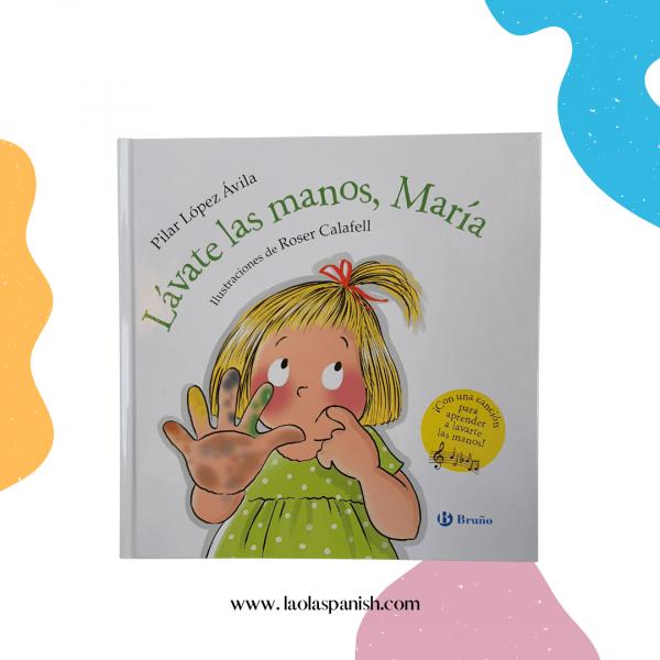 Libro para lavarse las manos. Libros de niños